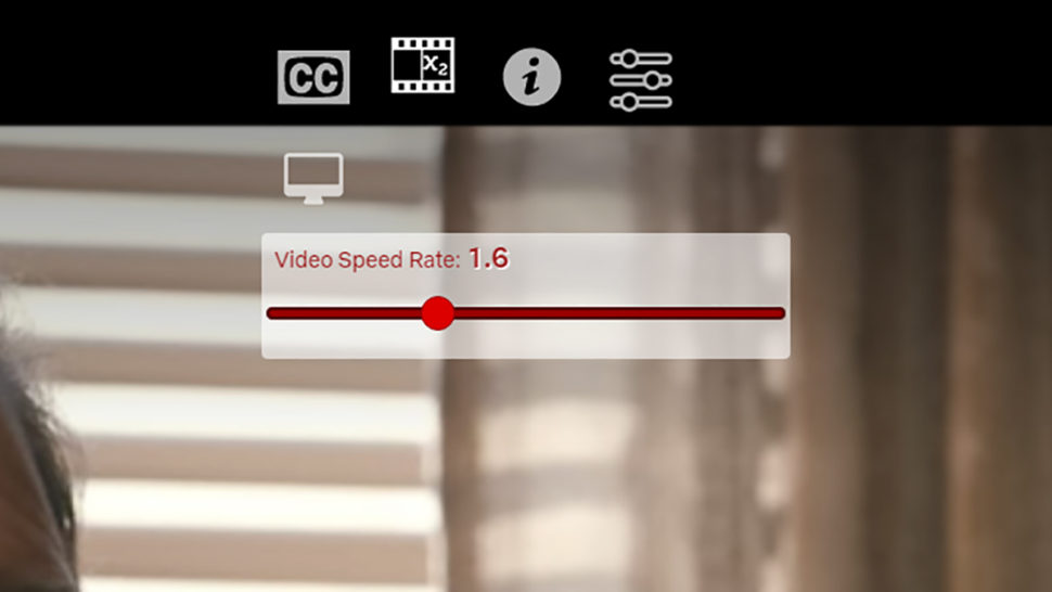 Controle de velocidade do complemente SuperNetflix