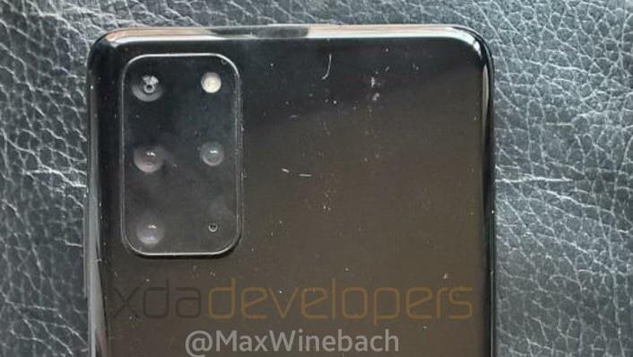 Imagem vazada da traseira do Galaxy S20