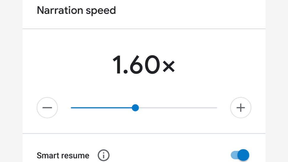 Recurso para mudar velocidade de sons no Google
