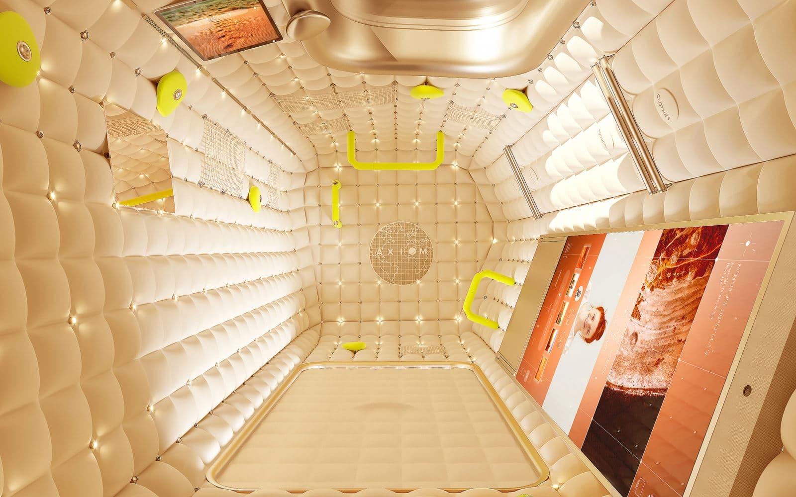 Projeto do módulo da Axiom para a ISS
