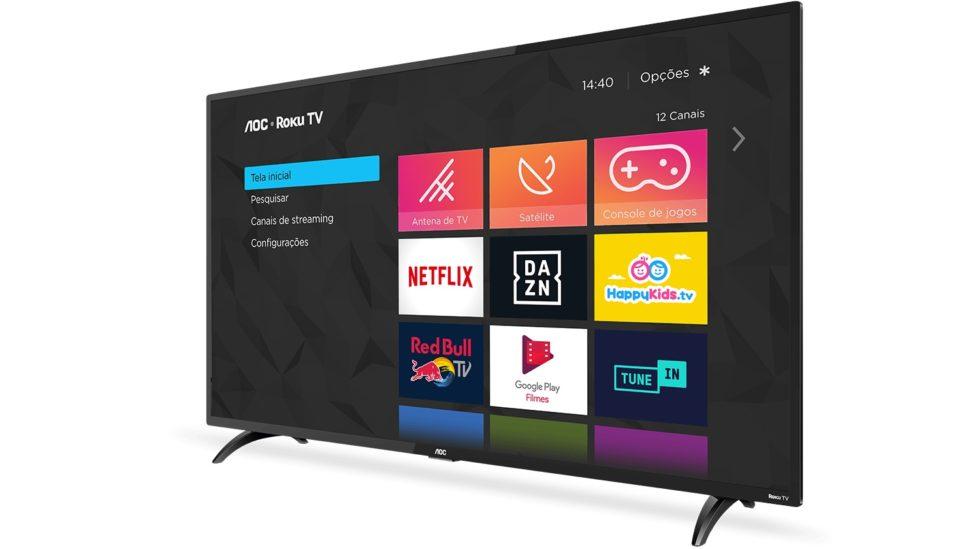 Roku TV AOC - modelo de 43 polegadas