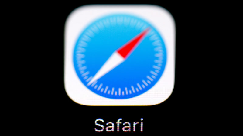 Logotipo do navegador Safari, da Apple