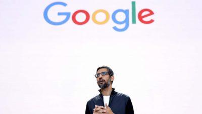 CEO do Google, Sundar Pichai