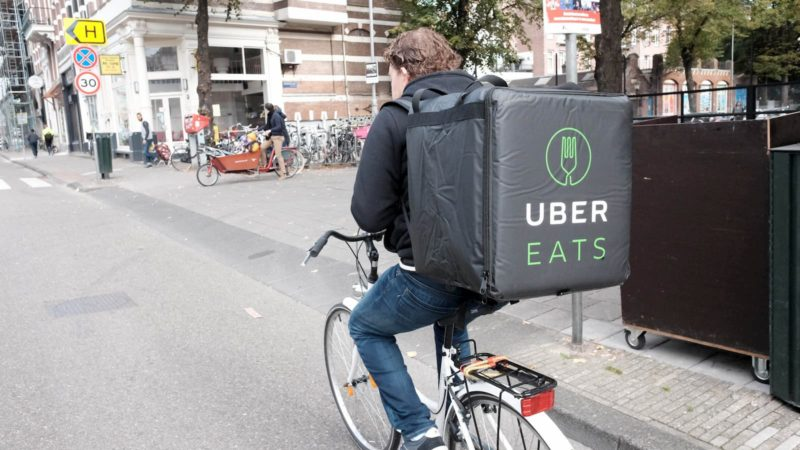 Uber Eats. Crédito: Franklin Heijnen/Flickr