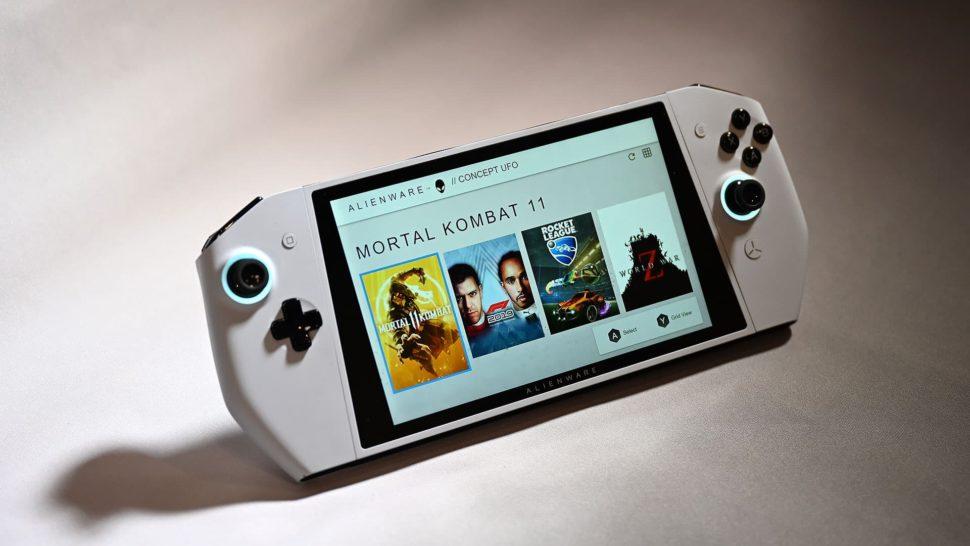 Concept UFO, da Dell, é uma espécie de clone do Nintendo Switch com Windows