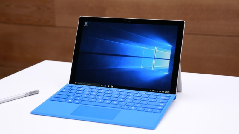 Microsoft Surface 4 rodando Winndows 10