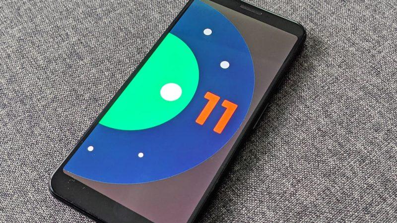 Android 11. Crédito: Gizmodo