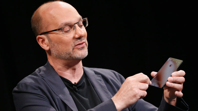 Andy Rubin, criador do Android. Crédito: Getty Images