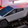 Caminhão Cybertruck versão Hot Wheels
