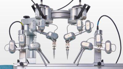 A plataforma robótica MUSA, desenvolvida pela MicroSure.