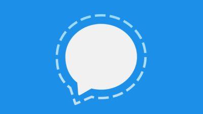 Logo do app Signal