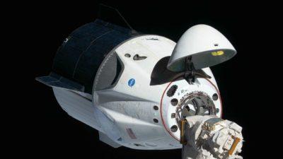 Cápsula Crew Dragon, da SpaceX