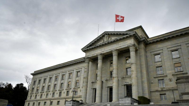 Suprema Corte Federal da Suíça em foto de 2018. Crédito: Fabrice Coffrini/AFP (Getty Images)