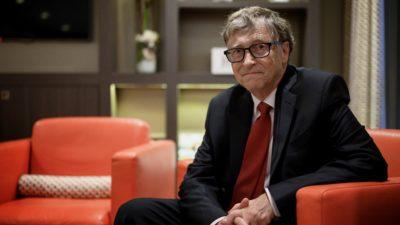 Cofundador da Microsoft Bill Gates