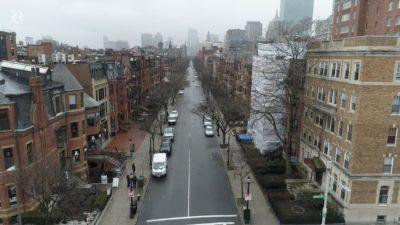 Boston em quarentena