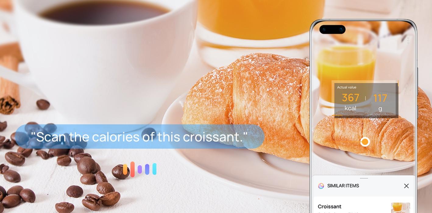 Assistente Celia, da Huawei, poderá contar calorias de alimentos