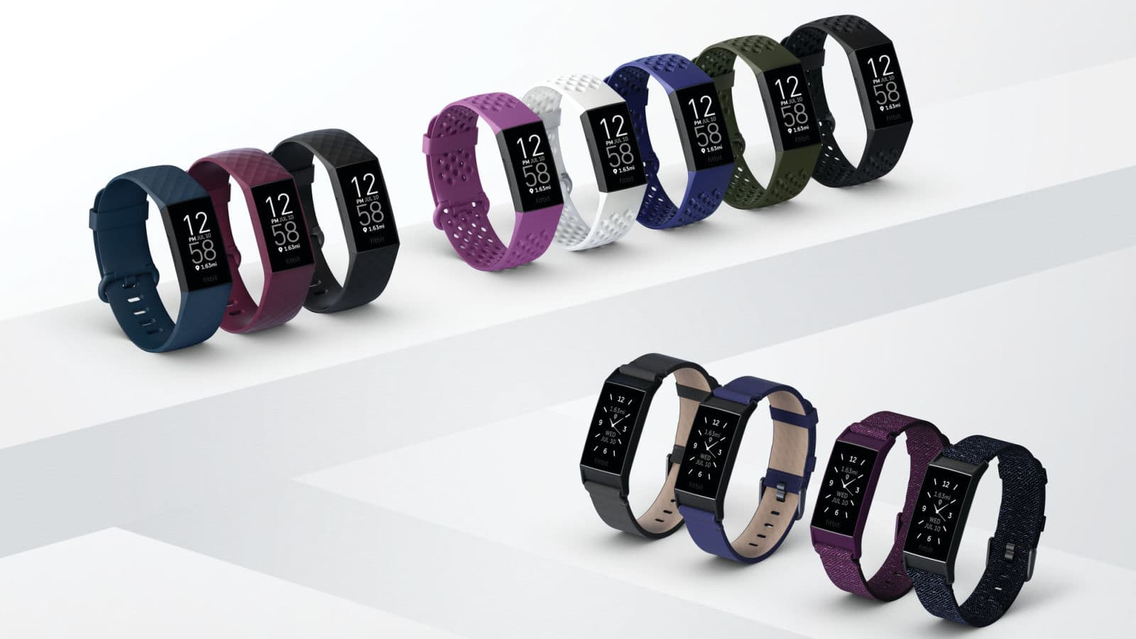 Fitbit Charge 4 e suas pulseiras