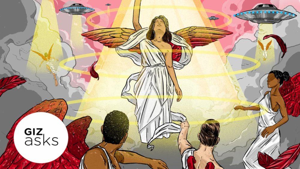 Que religião é mais amigável à ideia de alienígenas?