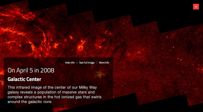 O que o Hubble registrou em 5 de abril