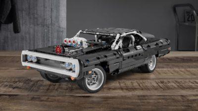 Dodge Charger R/T 1970 em LEGO