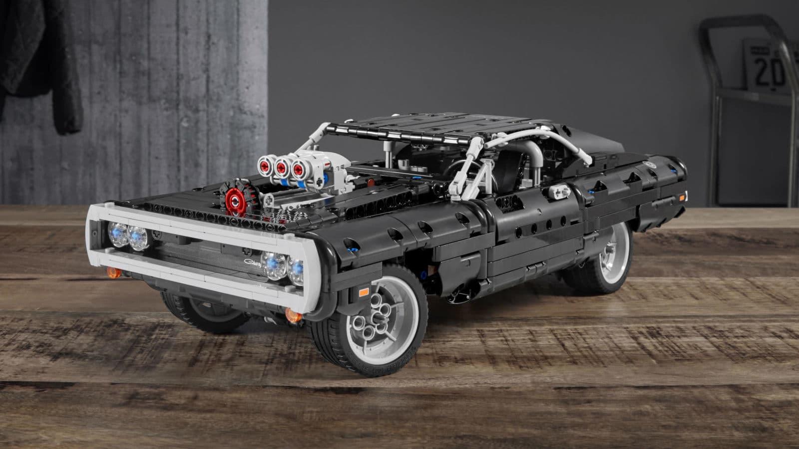 Velozes E Furiosos Entra Para A Familia Lego Com O Dodge Charger De Dominic Toretto