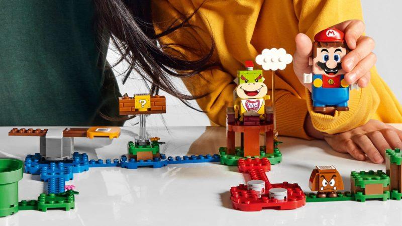 Conjunto de Lego do Mario