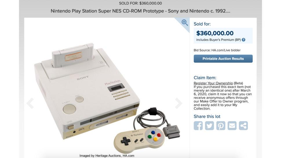 Captura de tela do Nintendo Play Station