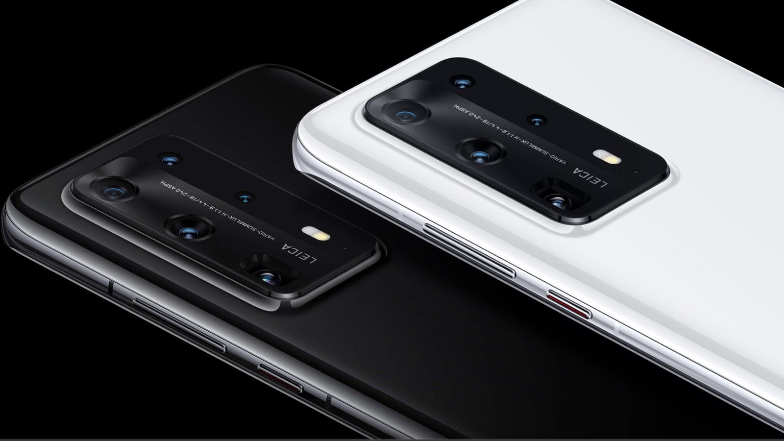 Traseira do Huawei P40 Plus