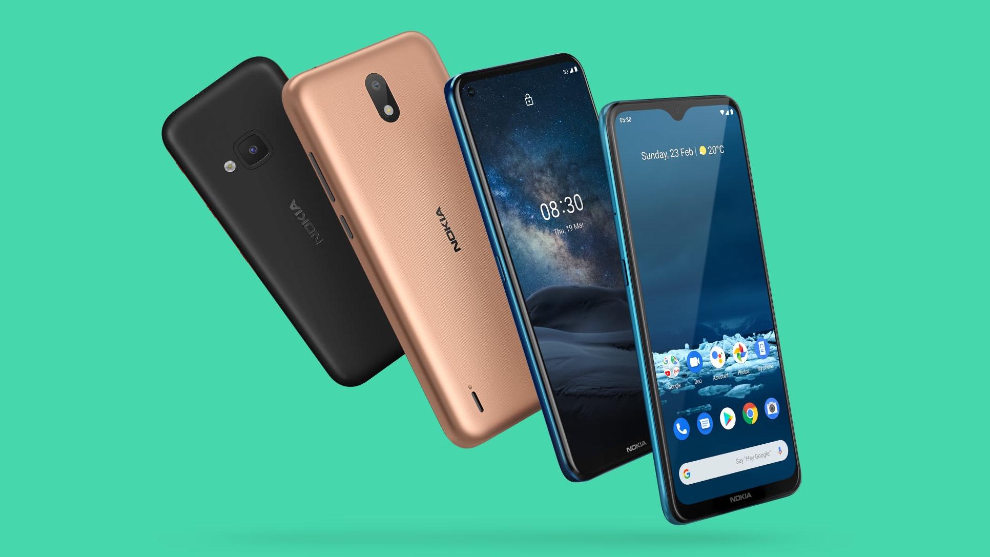 Novos aparelhos Nokia lançados em 2020