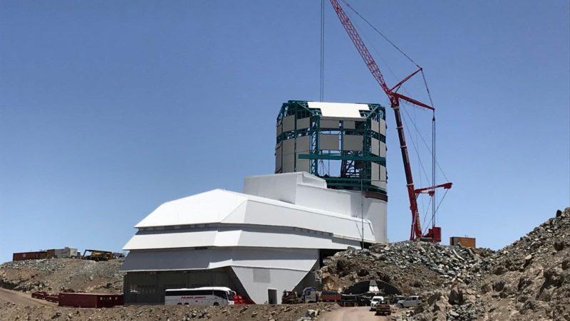 Observatório Rubin que está sendo construído no Chile