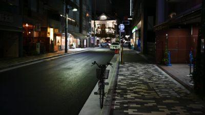 Rua da área de Ginza, em Tóquio (Japão), em foto de 15 de março de 2020. Crédito: Getty Images