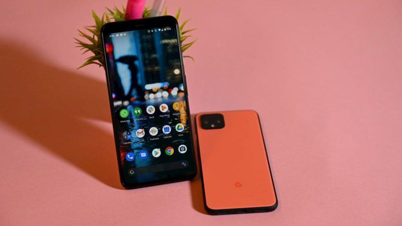 Smartphone Pixel Android