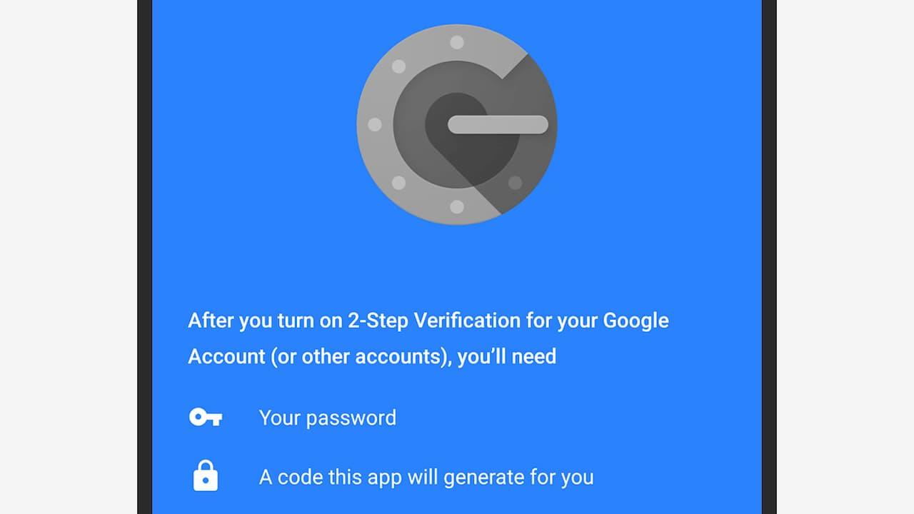 Autenticação em dois fatores do Google