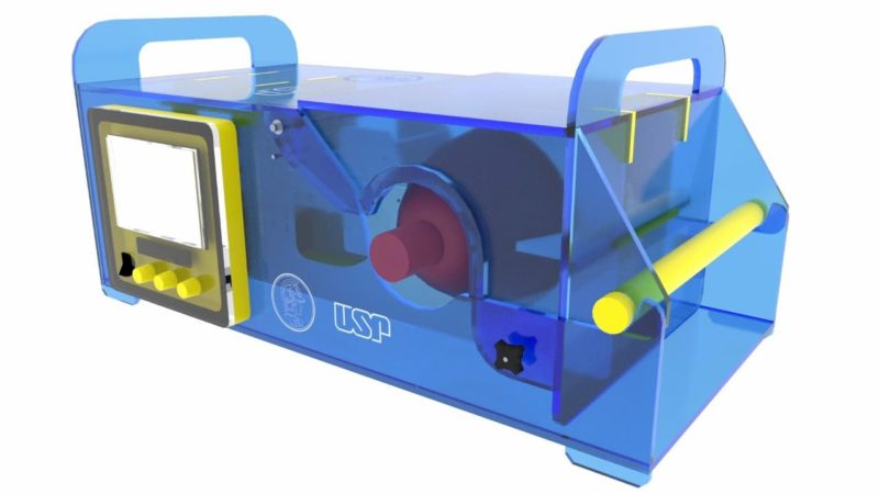 Ventilador pulmonar da USP