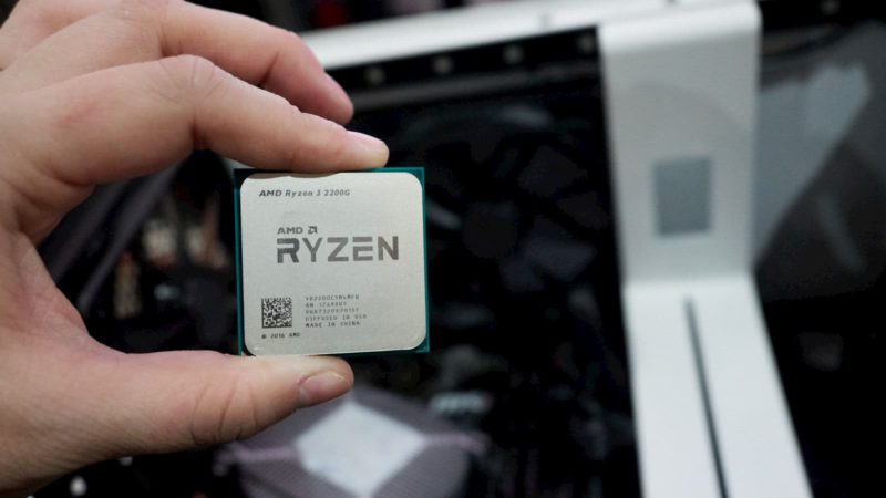 2ª geração do AMD Ryzen 3
