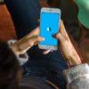 Logotipo do app BlaBlaCar em smartphone