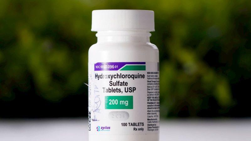 Frasco de hidroxicloroquina