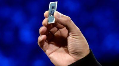 Chip Intel de 10ª geração, também conhecido como Ice Lake