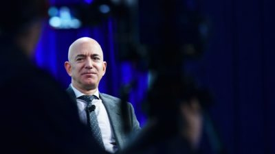 Jeff Bezos, fundador da Amazon. Crédito: Getty Images