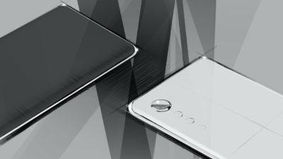 Conceito de design de smartphone da LG