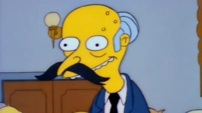 Mr. Burns dos Simpsons