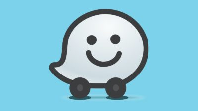 Logo do Waze