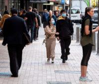 E andaram pelas ruas de Wellington. Crédito: Getty Images