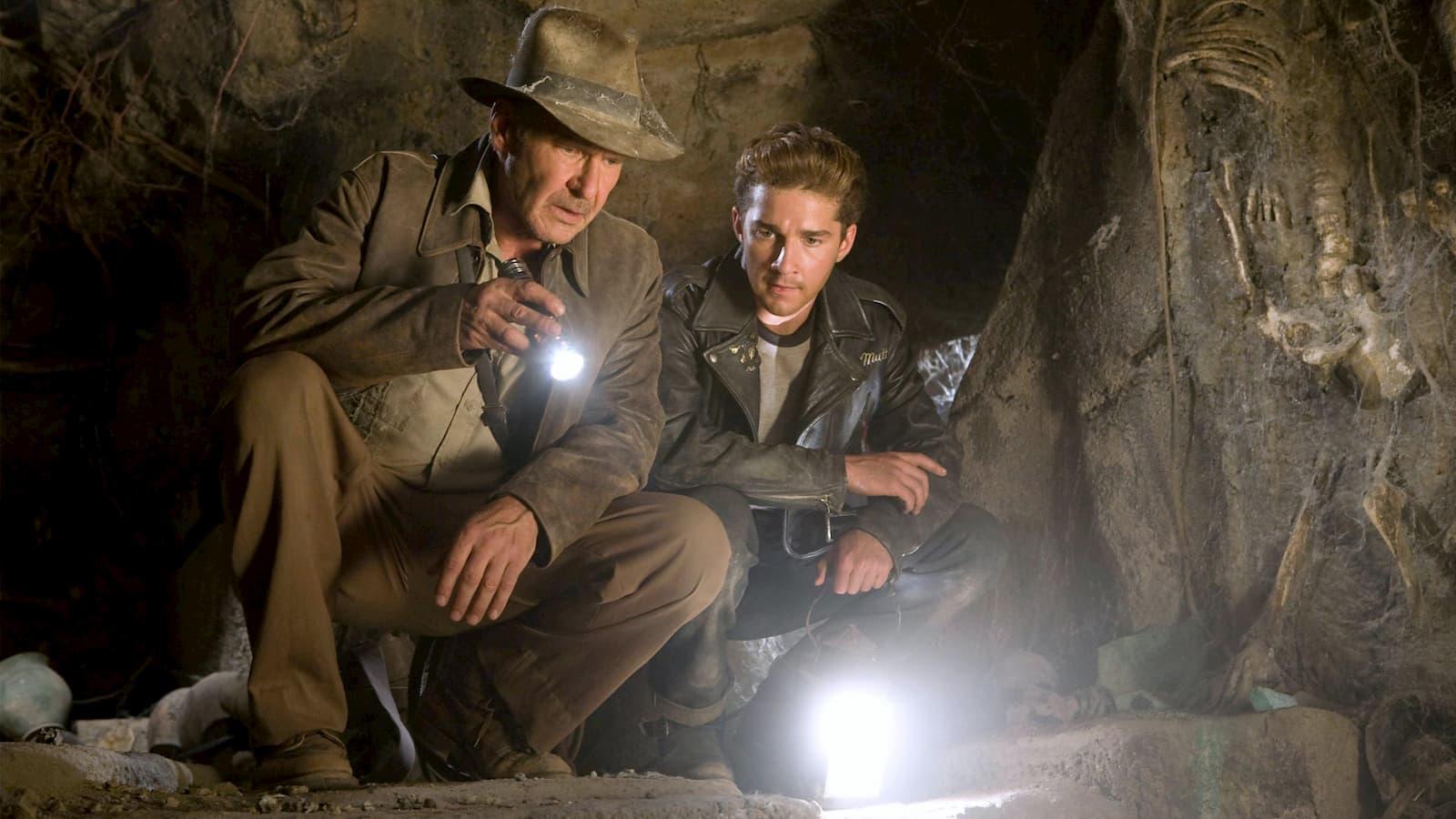 Cena de Indiana Jones e o Reino da Caveira de Cristal