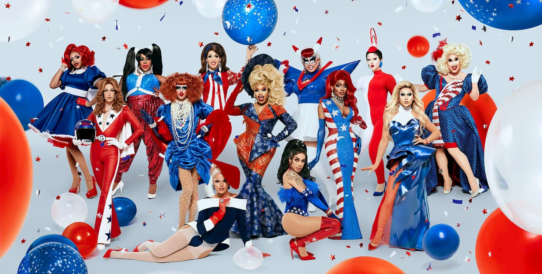 Material promocional de RuPaul's Drag Race: Temporada 12