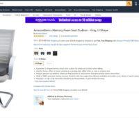 A almofada da própria Amazon