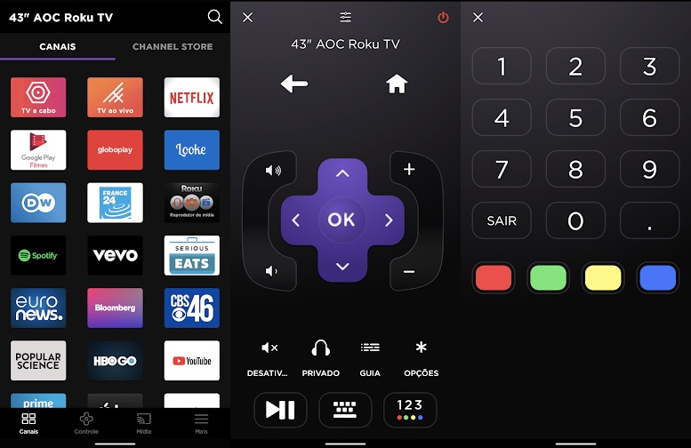 App da Roku TV