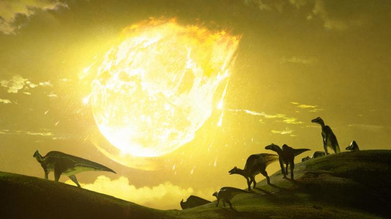 asteroide dinossauros chase stone 768x430 - Asteroide que extinguiu dinossauros atingiu a Terra em ângulo mais destruidor possível