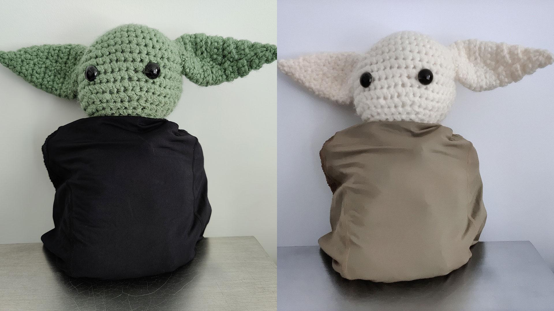 Teste do filtro Photochrom do One Plus 8 Pro com o Baby Yoda