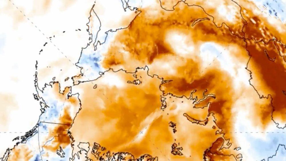 Temperatura no Ártico atingiu 26 graus nesta semana